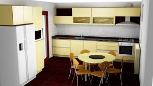 Proiect bucătărie la comandă Norvinia nr.524