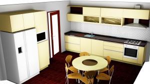 Proiect bucătărie la comandă Norvinia nr.520