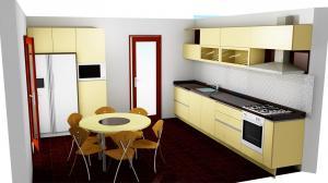 Proiect bucătărie la comandă Norvinia nr.523
