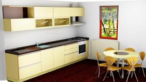 Proiect bucătărie la comandă Norvinia nr.522