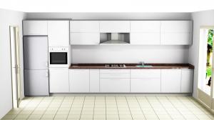 Proiect bucătărie la comandă Norvinia nr.542