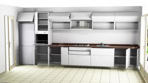 Proiect bucătărie la comandă Norvinia nr.541