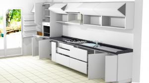 Proiect bucătărie la comandă Norvinia nr.561