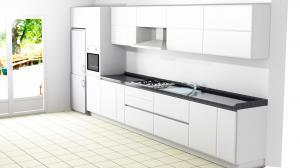 Proiect bucătărie la comandă Norvinia nr.560