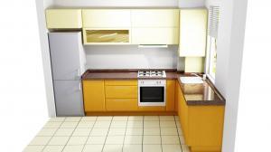 Proiect bucătărie mică la comandă Norvinia nr.582