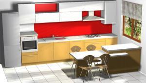 Proiect bucătărie Norvinia Nr-6 [0]