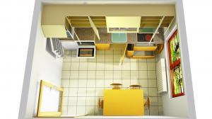 Proiect bucătărie la comandă Norvinia nr.614