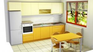 Proiect bucătărie la comandă Norvinia nr.610