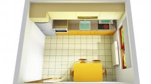 Proiect bucătărie la comandă Norvinia nr.613