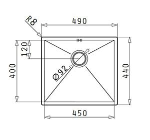 Pyramis Tetragon 1B 45x401