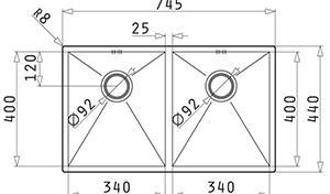 Pyramis Tetragon 2B 74.5x441