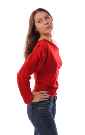 Bluza Morgan Red [4]