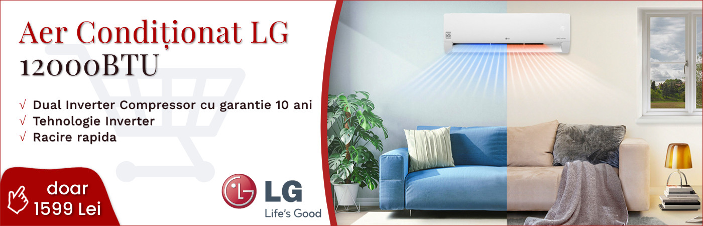 Aer conditionat LG Standard 3 S12ES, 12000 BTU