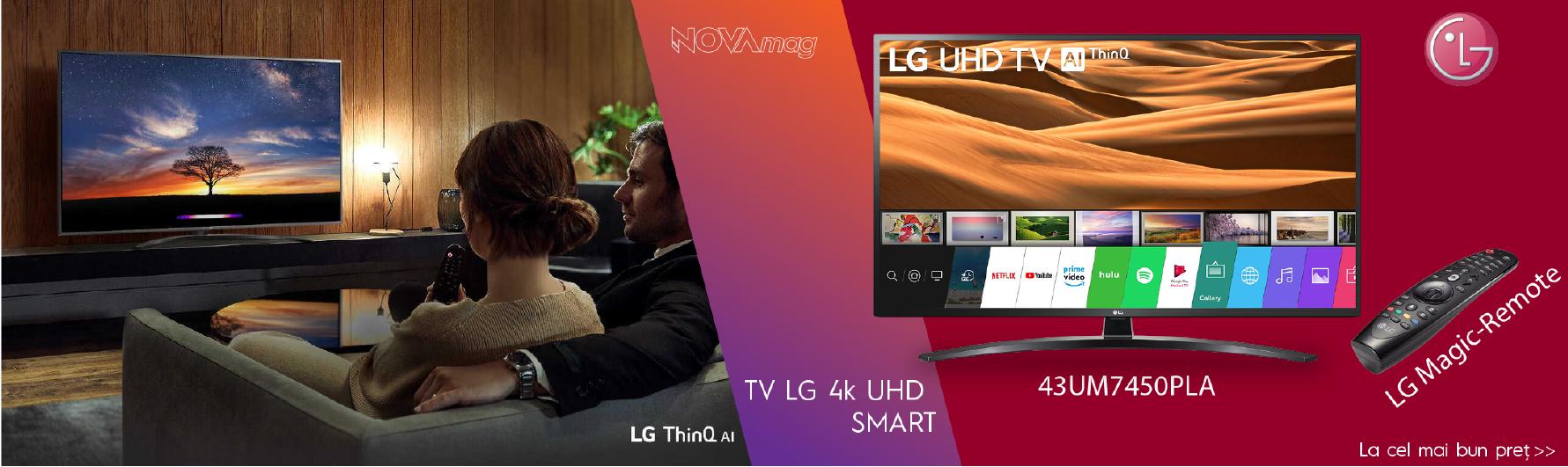 Promo LG TV+ Magic Remote