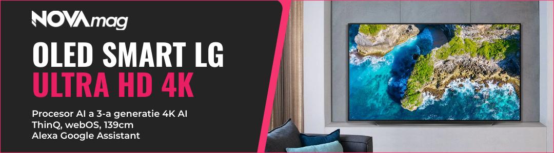 Televizor LG OLED55BX3LB, 139 cm, Smart, 4K Ultra HD, OLED, Clasa A