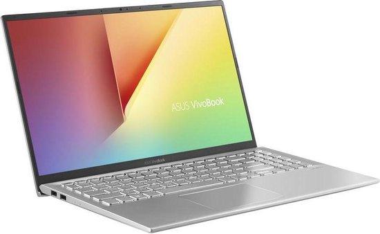 Laptop ASUS VivoBook K512JP-BQ281T, 15.6 FHD, i7-1065G7 1.3 GHz, 16 GB DDR4-SDRAM, 1 TB HDD+ 512 GB SSD, NVIDIA GeForce MX330 2 GB, Windows 10 Home, Silver 0