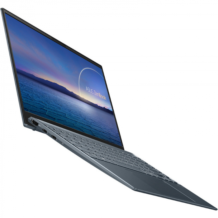 Ultrabook ASUS 13.3'' ZenBook 13 OLED UX325EA-KG271T, FHD, Procesor Intel® Core™ i5-1135G7 (8M Cache, up to 4.20 GHz), 16GB DDR4X, 512GB SSD, Intel Iris Xe, Win 10 Home, Pine Grey [7]