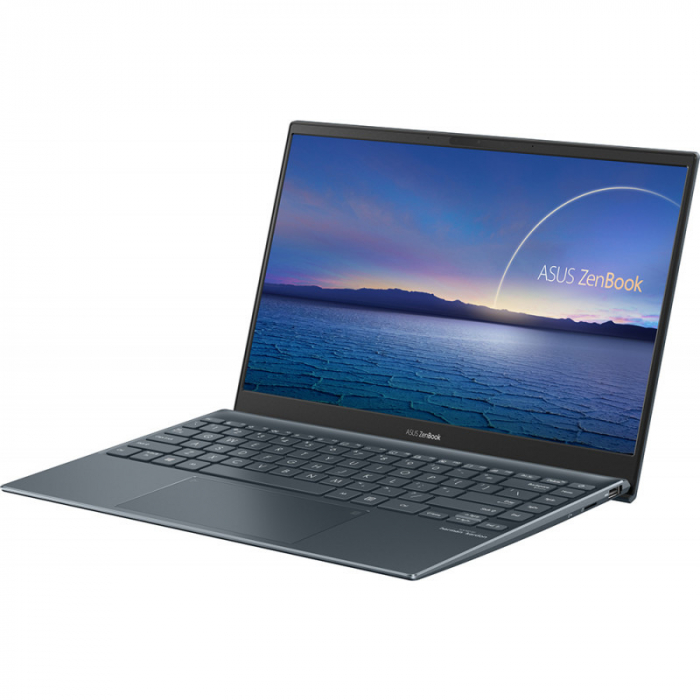 Ultrabook ASUS 13.3'' ZenBook 13 OLED UX325EA-KG271T, FHD, Procesor Intel® Core™ i5-1135G7 (8M Cache, up to 4.20 GHz), 16GB DDR4X, 512GB SSD, Intel Iris Xe, Win 10 Home, Pine Grey [5]