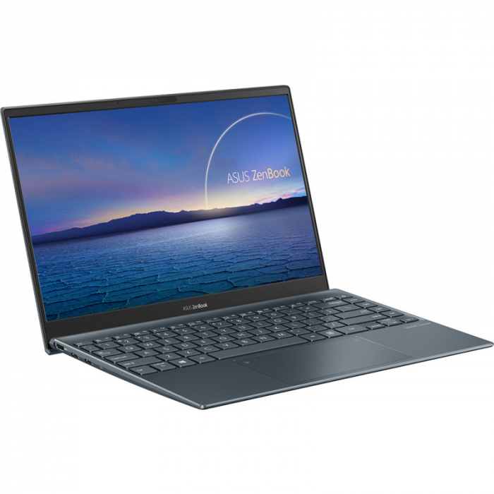 Ultrabook ASUS 13.3'' ZenBook 13 OLED UX325EA-KG271T, FHD, Procesor Intel® Core™ i5-1135G7 (8M Cache, up to 4.20 GHz), 16GB DDR4X, 512GB SSD, Intel Iris Xe, Win 10 Home, Pine Grey [4]