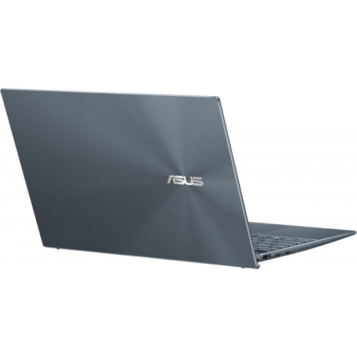 Ultrabook ASUS 13.3'' ZenBook 13 OLED UX325EA-KG271T, FHD, Procesor Intel® Core™ i5-1135G7 (8M Cache, up to 4.20 GHz), 16GB DDR4X, 512GB SSD, Intel Iris Xe, Win 10 Home, Pine Grey [14]