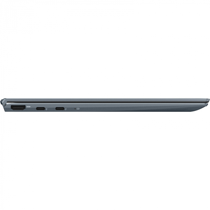 Ultrabook ASUS 13.3'' ZenBook 13 OLED UX325EA-KG271T, FHD, Procesor Intel® Core™ i5-1135G7 (8M Cache, up to 4.20 GHz), 16GB DDR4X, 512GB SSD, Intel Iris Xe, Win 10 Home, Pine Grey [16]