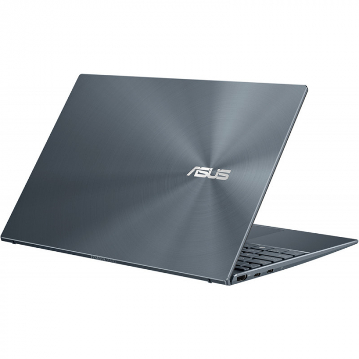 Ultrabook ASUS 13.3'' ZenBook 13 OLED UX325EA-KG271T, FHD, Procesor Intel® Core™ i5-1135G7 (8M Cache, up to 4.20 GHz), 16GB DDR4X, 512GB SSD, Intel Iris Xe, Win 10 Home, Pine Grey [8]