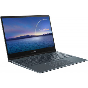 Ultrabook ASUS 13.3'' ZenBook Flip 13 UX363EA-EM073R, FHD Touch, Procesor Intel® Core™ i5-1135G7 (8M Cache, up to 4.20 GHz), 8GB DDR4, 512GB SSD, Intel Iris Xe, Win 10 Pro, Pine Grey 7