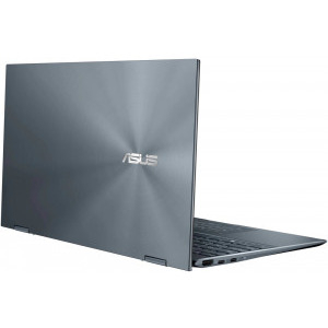 Ultrabook ASUS 13.3'' ZenBook Flip 13 UX363EA-EM073R, FHD Touch, Procesor Intel® Core™ i5-1135G7 (8M Cache, up to 4.20 GHz), 8GB DDR4, 512GB SSD, Intel Iris Xe, Win 10 Pro, Pine Grey 6