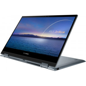 Ultrabook ASUS 13.3'' ZenBook Flip 13 UX363EA-EM082R, FHD Touch, Procesor Intel® Core™ i5-1135G7 (8M Cache, up to 4.20 GHz), 8GB DDR4, 1TB SSD, Intel Iris Xe, Win 10 Pro, Pine Grey 4