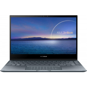 Ultrabook ASUS 13.3'' ZenBook Flip 13 UX363EA-EM082R, FHD Touch, Procesor Intel® Core™ i5-1135G7 (8M Cache, up to 4.20 GHz), 8GB DDR4, 1TB SSD, Intel Iris Xe, Win 10 Pro, Pine Grey 0