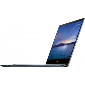 Ultrabook ASUS 13.3'' ZenBook Flip 13 UX363EA-EM082R, FHD Touch, Procesor Intel® Core™ i5-1135G7 (8M Cache, up to 4.20 GHz), 8GB DDR4, 1TB SSD, Intel Iris Xe, Win 10 Pro, Pine Grey 8