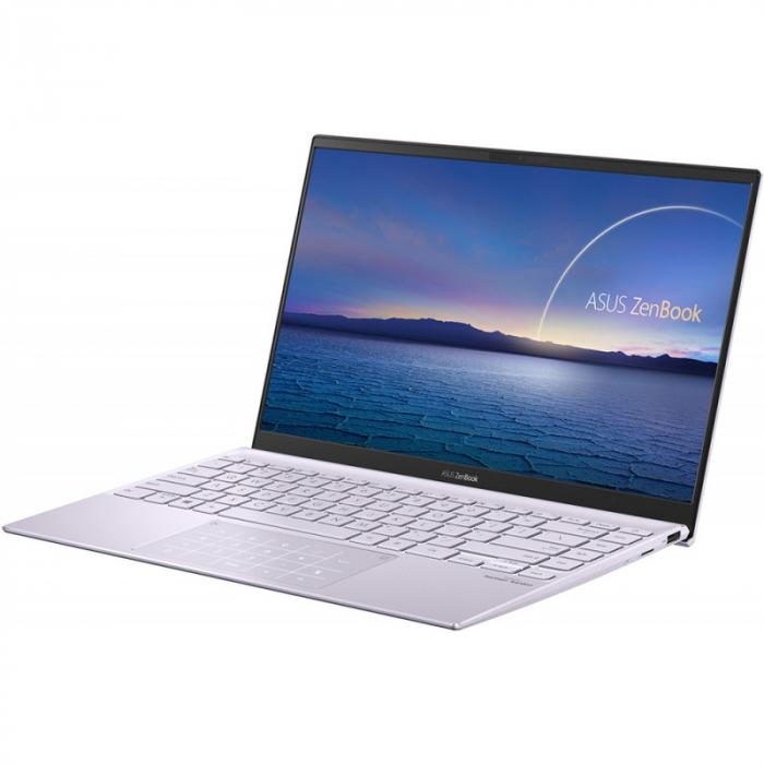 Ultrabook ASUS ZenBook 14 UM425IA-AM036, AMD Ryzen 7 4700U, 14inch, RAM 8GB, SSD 512GB, AMD Radeon Graphics, No OS, Violet [3]