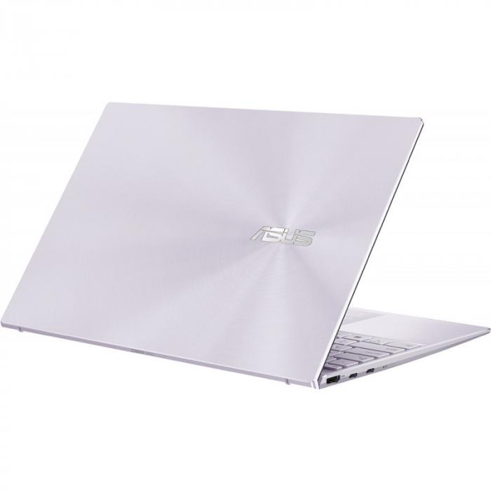 Ultrabook ASUS ZenBook 14 UM425IA-AM036, AMD Ryzen 7 4700U, 14inch, RAM 8GB, SSD 512GB, AMD Radeon Graphics, No OS, Violet [6]