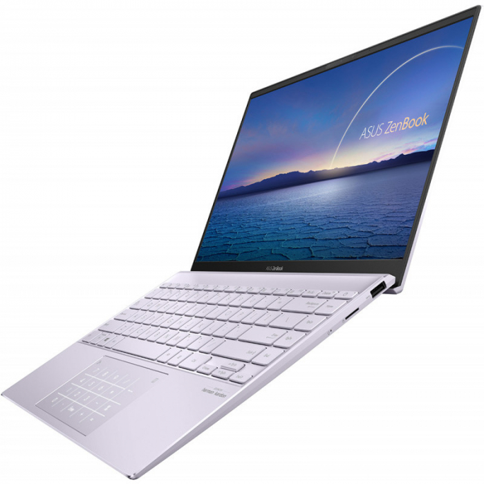 Ultrabook ASUS ZenBook 14 UM425IA-AM036, AMD Ryzen 7 4700U, 14inch, RAM 8GB, SSD 512GB, AMD Radeon Graphics, No OS, Violet [4]