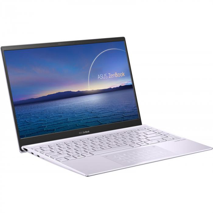Ultrabook ASUS ZenBook 14 UM425IA-AM036, AMD Ryzen 7 4700U, 14inch, RAM 8GB, SSD 512GB, AMD Radeon Graphics, No OS, Violet [2]