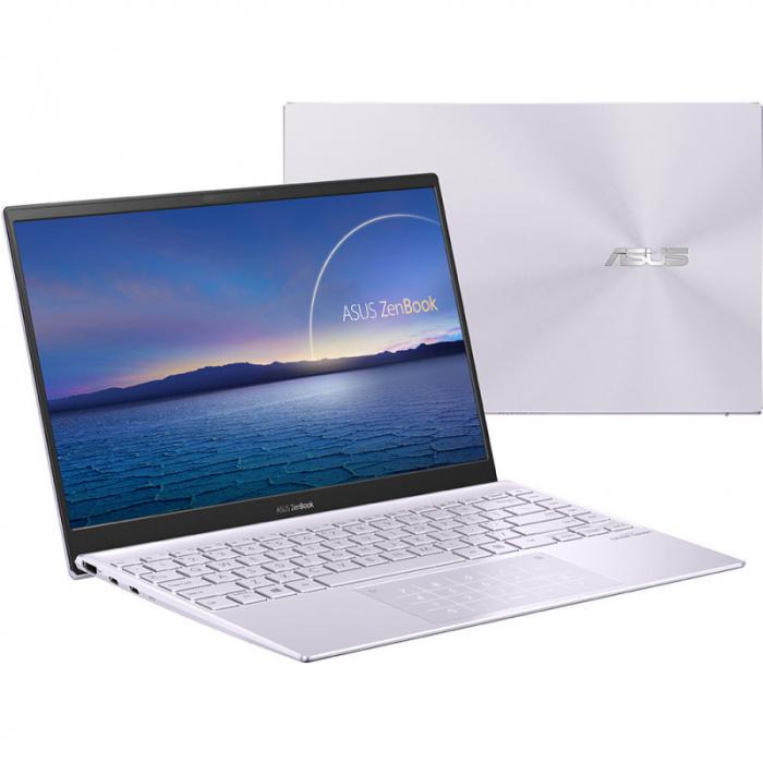 Ultrabook ASUS ZenBook 14 UM425IA-AM036, AMD Ryzen 7 4700U, 14inch, RAM 8GB, SSD 512GB, AMD Radeon Graphics, No OS, Violet [5]