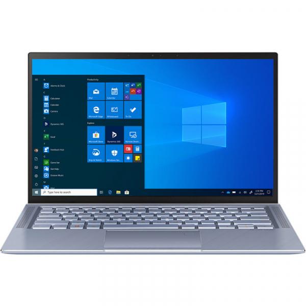 "Laptop Asus Zenbook 14"" UM431DA-AM029R, AMD RYZEN 7-3700U, 16GB DDR4, SSD 512GB, RADEON RX VEGA10, WINDOWS 10 PRO 0"