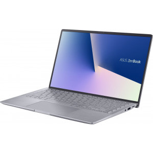 Ultrabook ASUS 14'' ZenBook 14 UM433IQ-A5026, FHD, Procesor AMD Ryzen™ 7 4700U (8M Cache, up to 4.1 Ghz), 16GB DDR4X, 512GB SSD, GeForce MX350 2GB, No OS, Light Grey 2