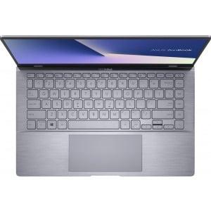 Ultrabook ASUS 14'' ZenBook 14 UM433IQ-A5026, FHD, Procesor AMD Ryzen™ 7 4700U (8M Cache, up to 4.1 Ghz), 16GB DDR4X, 512GB SSD, GeForce MX350 2GB, No OS, Light Grey 1