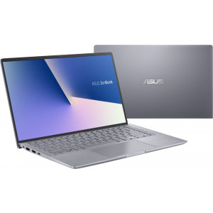Ultrabook ASUS 14'' ZenBook 14 UM433IQ-A5026, FHD, Procesor AMD Ryzen™ 7 4700U (8M Cache, up to 4.1 Ghz), 16GB DDR4X, 512GB SSD, GeForce MX350 2GB, No OS, Light Grey 8