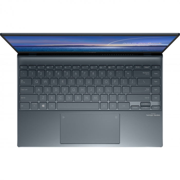 Ultrabook ASUS 14'' ZenBook 14 UX425EA-KI391T, FHD, Procesor Intel® Core™ i5-1135G7 (8M Cache, up to 4.20 GHz), 16GB DDR4X, 512GB SSD, Intel Iris Xe, Win 10 Home, Pine Grey [2]
