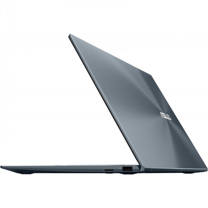 Ultrabook ASUS 14'' ZenBook 14 UX425EA-KI391T, FHD, Procesor Intel® Core™ i5-1135G7 (8M Cache, up to 4.20 GHz), 16GB DDR4X, 512GB SSD, Intel Iris Xe, Win 10 Home, Pine Grey [12]
