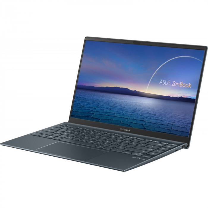 Ultrabook ASUS 14'' ZenBook 14 UX425EA-KI391T, FHD, Procesor Intel® Core™ i5-1135G7 (8M Cache, up to 4.20 GHz), 16GB DDR4X, 512GB SSD, Intel Iris Xe, Win 10 Home, Pine Grey [4]