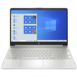 Laptop HP 15.6'' 15s-fq1708nd, FHD, Procesor Intel® Core™ i5-1035G1 (6M Cache, up to 3.60 GHz), 8GB DDR4, 256GB SSD, GMA UHD, Win 10 Home, Silver, 1E6W6EA 1