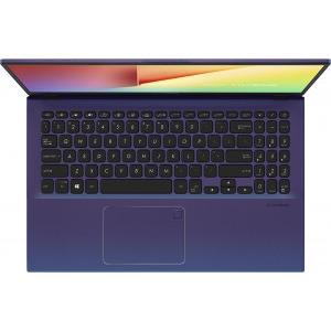Laptop ASUS 15.6'' VivoBook 15 X512DA-EJ1434, FHD, Procesor AMD Ryzen™ 3 3250U (4M Cache, up to 3.50 GHz), 8GB DDR4, 256GB SSD, Radeon Vega 3, No OS, Peacock Blue 1