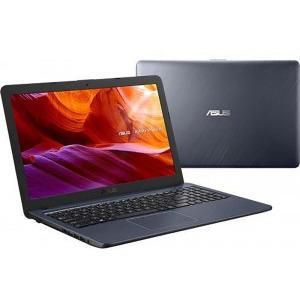Laptop Asus VivoBook X543MA-GQ506W, Intel Celeron Dual Core N4020, 15.6inch, RAM 4GB, SSD 256GB, Intel UHD Graphics 600, Star Gray, sistem de operare Windows 10 Home, cadou mouse wireless 3
