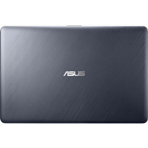 Laptop Asus VivoBook X543MA-GQ506W, Intel Celeron Dual Core N4020, 15.6inch, RAM 4GB, SSD 256GB, Intel UHD Graphics 600, Star Gray, sistem de operare Windows 10 Home, cadou mouse wireless 4