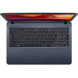 Laptop Asus VivoBook X543MA-GQ506W, Intel Celeron Dual Core N4020, 15.6inch, RAM 4GB, SSD 256GB, Intel UHD Graphics 600, Star Gray, sistem de operare Windows 10 Home, cadou mouse wireless 1