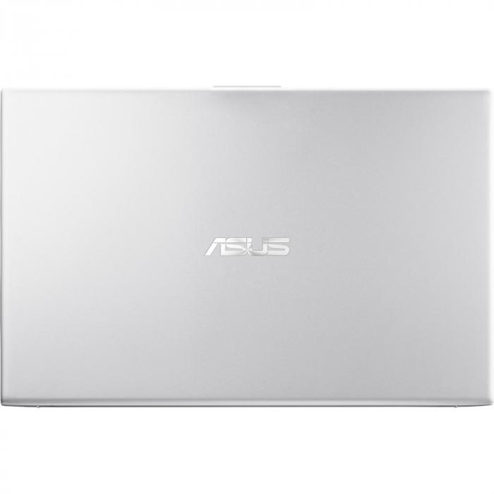 Laptop ASUS 17.3'' VivoBook 17 X712EA, HD+, Procesor Intel® Core™ i5-1135G7 (8M Cache, up to 4.20 GHz), 8GB DDR4, 512GB SSD, Intel Iris Xe, No OS, Transparent Silver [12]