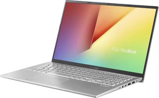 Laptop ASUS VivoBook K512JP-BQ281T, 15.6 FHD, i7-1065G7 1.3 GHz, 16 GB DDR4-SDRAM, 1 TB HDD+ 512 GB SSD, NVIDIA GeForce MX330 2 GB, Windows 10 Home, Silver 1